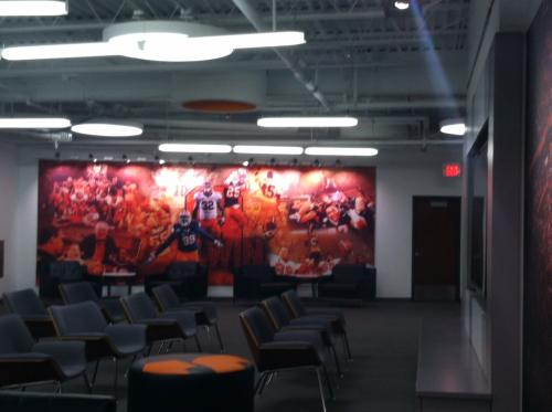 SYRACUSE UNIVERSITY FOOTBALL DIGITAL PRINT WALL GRAPHICS