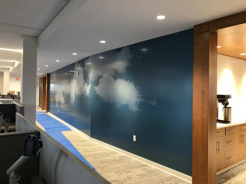 NASCENTIA HEALTH DIGITAL PRINT WALL GRAPHICS
