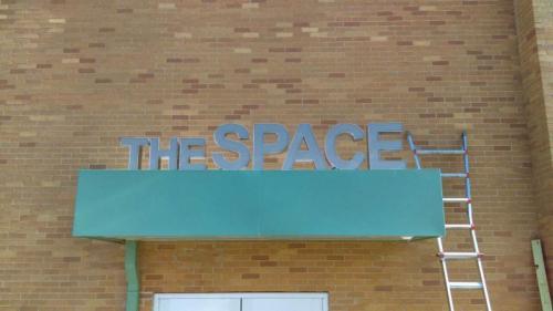 SUNY Oswego Illuminated Metal Dimensional Letters