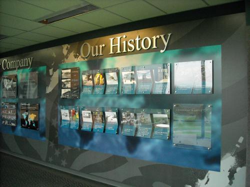 LOCKHEED MARTIN HISTORY DISPLAY