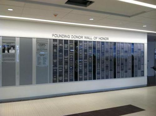 UPSTATE HOSPITAL SYRACUSE DONOR WALL