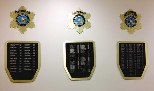 ONONDAGA COUNTY SHERIFF MEDAL PLAQUES