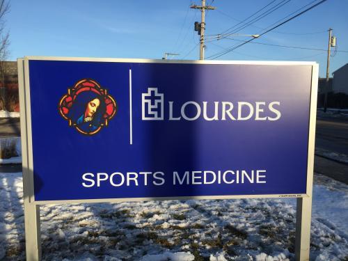 LOURDES HOSPITAL POST & PANEL