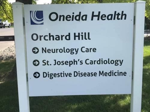 ONEIDA HEALTH POST & PANEL