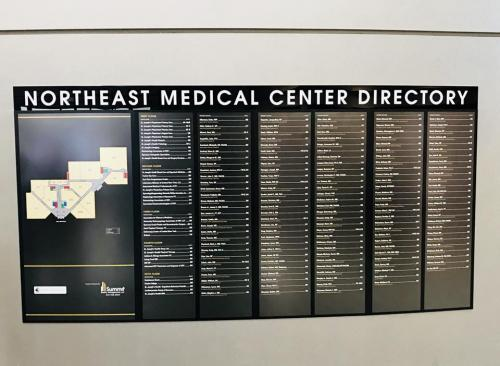 NORTH EAST MEDICAL DIRECTORY AND MAP FAYETTEVILLE, NY