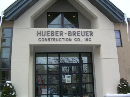 HUEBER-BREUER HUEBER-BREUER CONSTRUCTION METAL DIMENSIONAL LETTERS