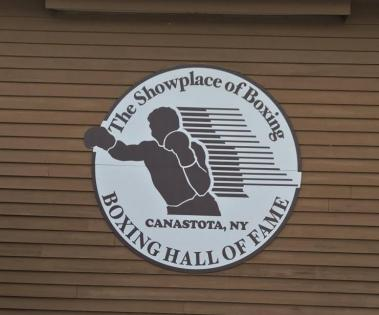 NATIONAL BOXING HALL OF FAME LOGO