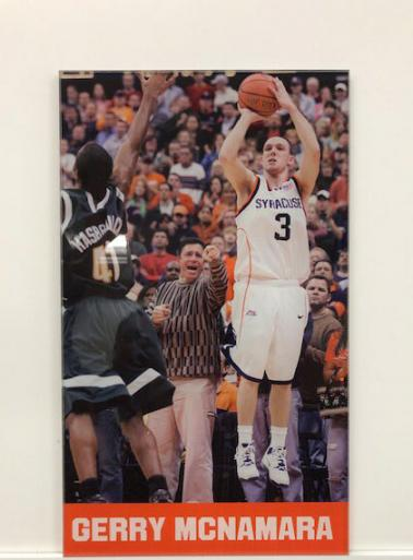 DIGITAL PRINT OF SYRACUSE BASKETBALL LEGEND GERRY MCNAMARA