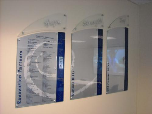 PIONEER COMPANIES DONOR PLAQUES