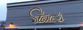 STONE'S STEAKHOUSE HALO LIT DIMENSIONAL LETTERS